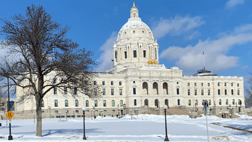 MN Capitol in Winter
